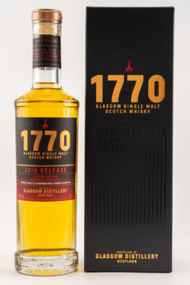 Glasgow Distillery Company launcht 1770 Glasgow Single Malt Whisky 2019 Release