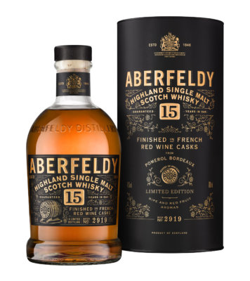 Aberfeldy 15 Jahre Finished in French Red Wine Casks