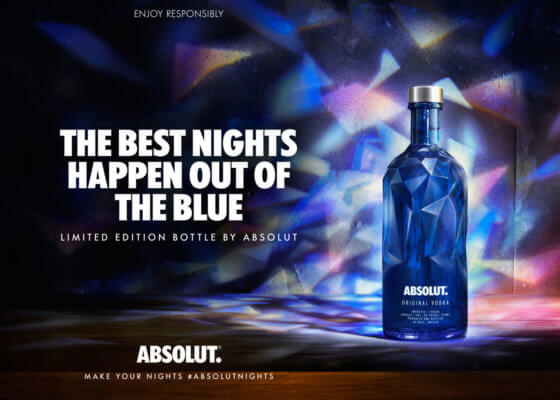 Absolut Vodka launcht Absolut Facet Limited Design Edition
