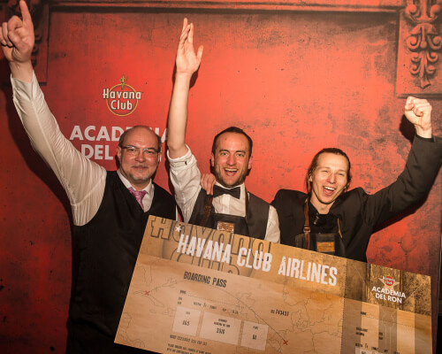 Finalisten von links nach rechts: Torsten Spuhn, Lars Bender, Matthias Ingelmann