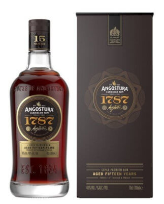 Angostura 1787 15 Jahre Rum vor Launch