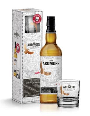 Ardmore Legacy mit gebrandetem Tumbler im Geschenkset