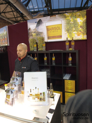 Perola GmbH mit Barsol Pisco