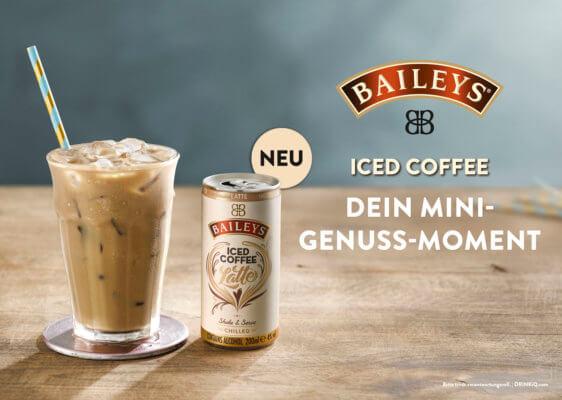 Launch des Baileys Iced Coffee als Premix