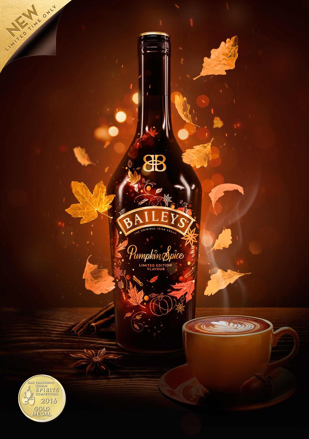News Baileys Pumpkin Spice Als Limitierte Herbst Edition