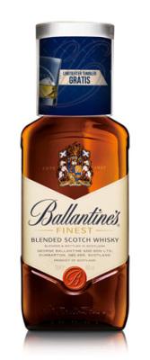 Ballantine's Finest mit Tumbler im On-Pack zum Fest