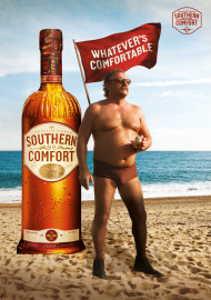 Werbekampagne Whatever's Comfortable für Southern Comfort kommt zum Juni 2013 nach Deutschland