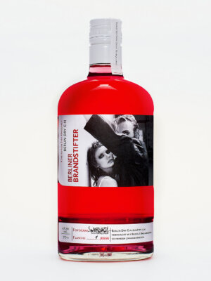 Berliner Brandstifter x Sven Marquardt Kunstedition Berlin Dry Gin