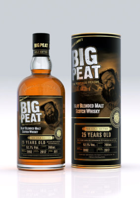 Big Peat 25 Jahre 'The Gold Edition' vor Launch