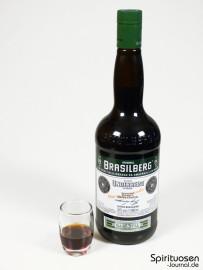 Brasilberg Glas und Flasche