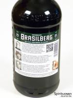 Brasilberg Rückseite Etikett