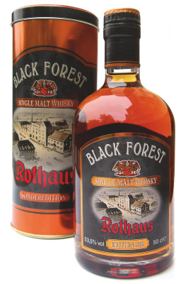 Neue Black Forest Whisky Edition 2013 Pinot Noir Wood Finish vor Launch