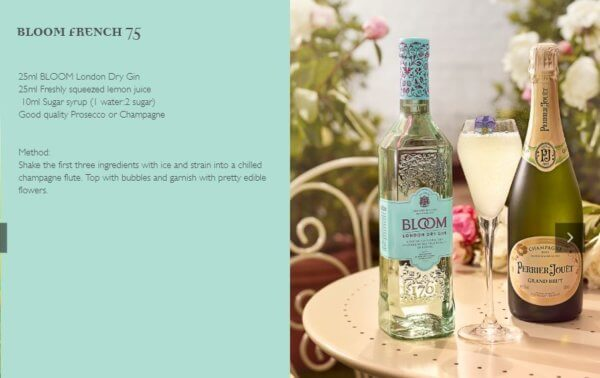 Bloom French 75