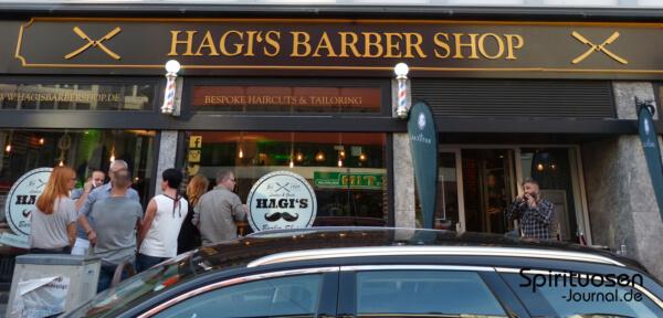 Mit Ron Botucal in Hagi's Barber Shop