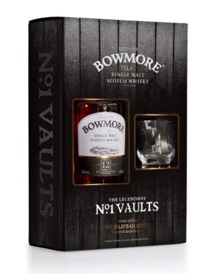 Bowmore 12 Jahre mit Nosing-Glas im Geschenkset