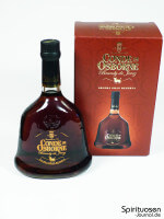 Conde de Osborne Verpackung und Flasche