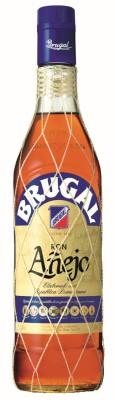 Altes Flaschendesign für Brugal Rum bis 2013