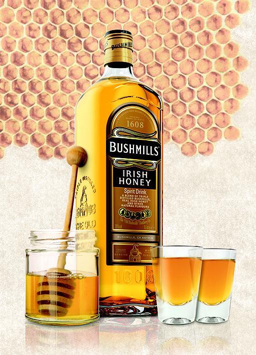 test bushmills irish honey spirituosen. Black Bedroom Furniture Sets. Home Design Ideas