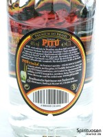 Pitu Rückseite Etikett