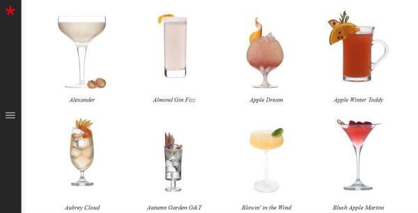 Cocktails mit Caorunn Gin