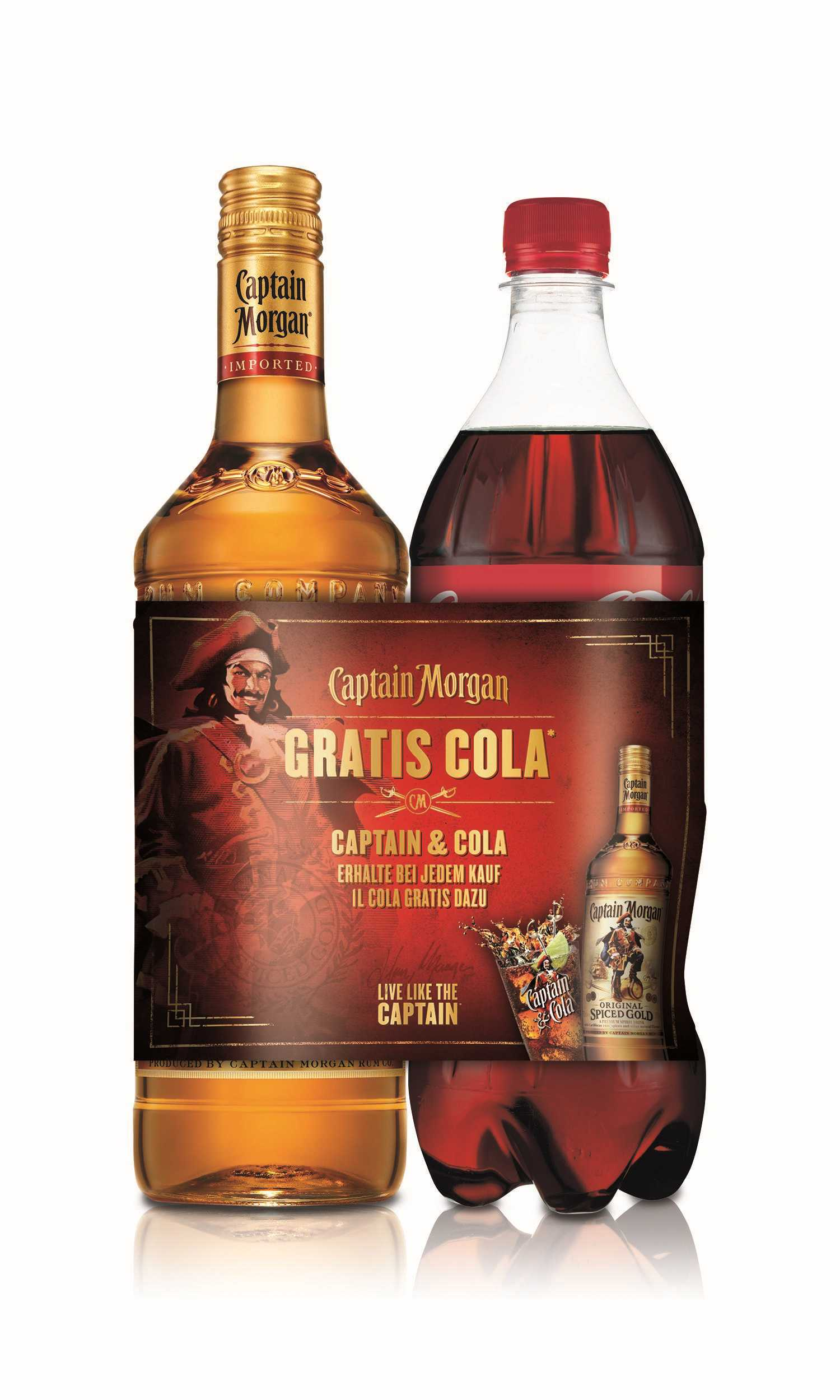Captain Morgan Mit Cola