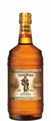 Captain Morgan Original Spiced Gold Barrel Bottle