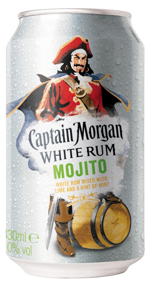 News Captain Morgan White Rum Mojito In Der Dose Vor Launch Spirituosen Journal De