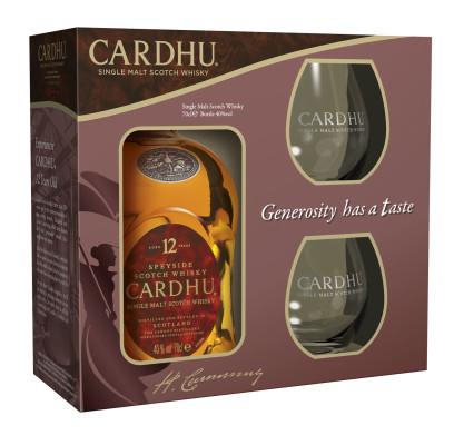 Cardhu 12 Jahre in Geschenkverpackung
