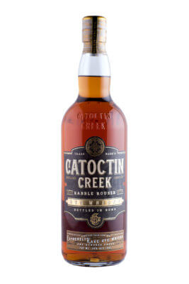 Catoctin Creek Rabble Rouser Rye Whisky wird 'Bottled in Bond'