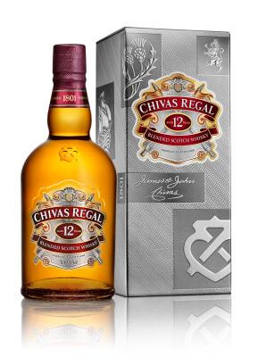 Neuer Look für Chivas Regal 12 Jahre