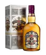 Chivas Regal 12 Jahre Verpackung und Flasche