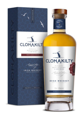 Clonakilty Distillery startet mit Port Cask Finish Blended Whiskey