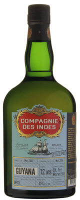Compagnie des Indes Guyana 12 Jahre Diamond Distillers Port Mourant Still