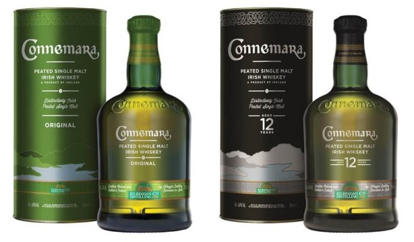 Connemara Irish Whiskey wird mit neuem Design ausgestattet