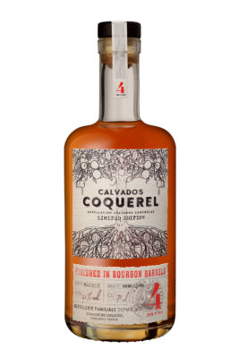 Coquerel Calvados Finished in Bourbon Barrels 4 Jahre
