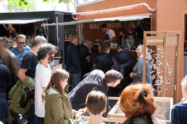 Dewar´s Scotch Egg Club trifft auf Street Food Festivals