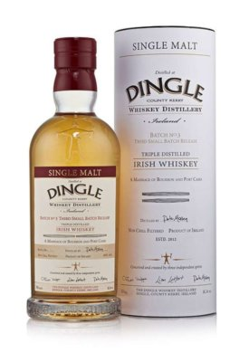 Dingle Whiskey Distillery launcht dritten Single Malt Whiskey