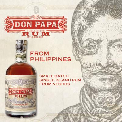 Markteinführung von Don Papa Rum in Deutschland mit Charity-Aktion