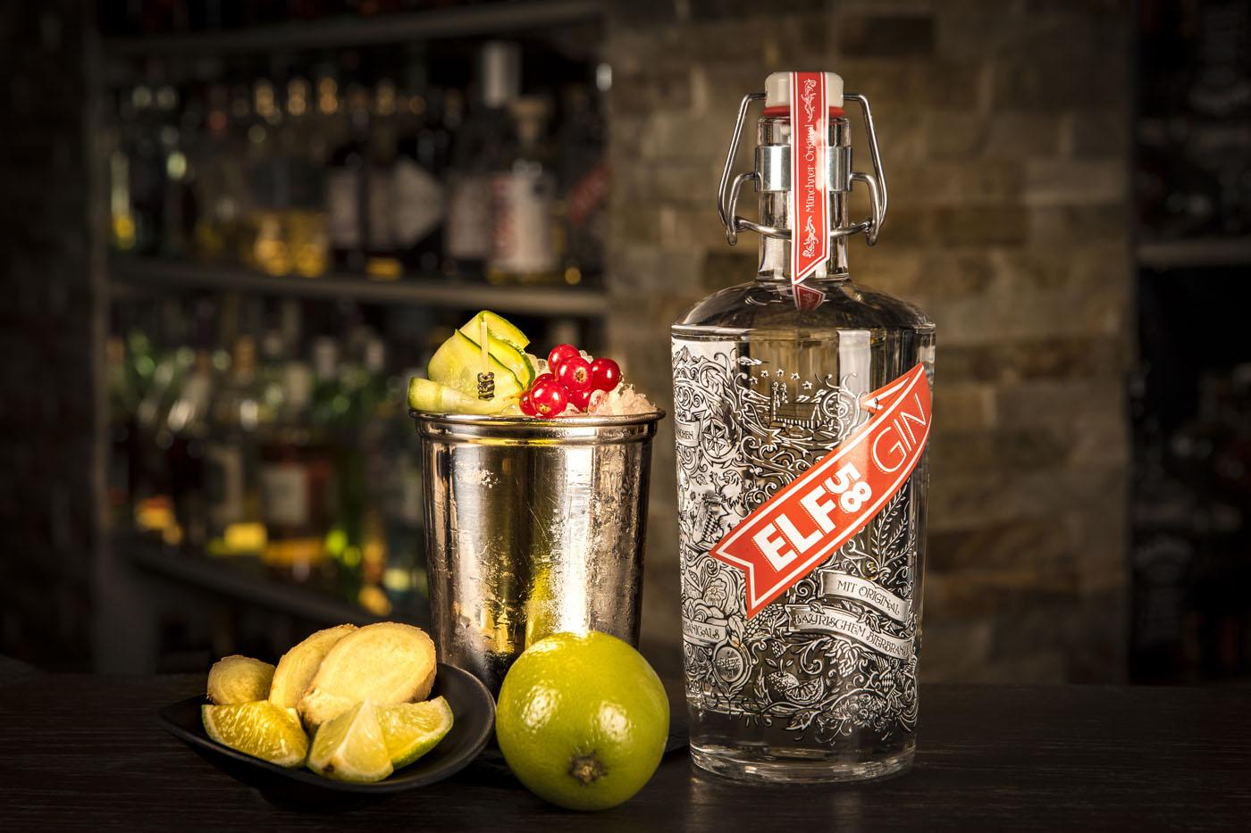 cocktails mehr als nur tonic drei drinks mit elf58 gin spirituosen. Black Bedroom Furniture Sets. Home Design Ideas