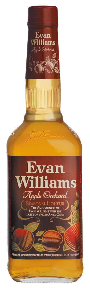 Evan Williams Apple Orchard Fall Seasonal Liqueur