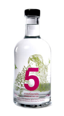 Feingeisterei launcht 5 continents Gin Frühlingsedition