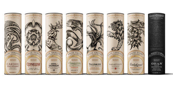 Diageo kündigt Game of Thrones Collection an