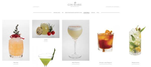 Cocktails mit Gin Mare