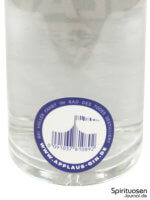 Applaus Dry Gin Rückseite Etikett