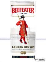 Beefeater London Dry Gin Vorderseite Etikett