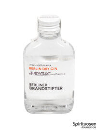 Berliner Brandstifter Berlin Dry Gin Probe