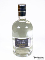 Black Forest Dry Gin Rückseite