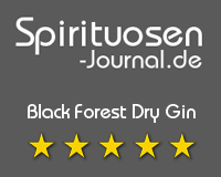 Black Forest Dry Gin Wertung