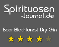 Boar Blackforest Dry Gin Wertung