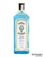 Bombay Sapphire London Dry Gin (47%) Vorderseite